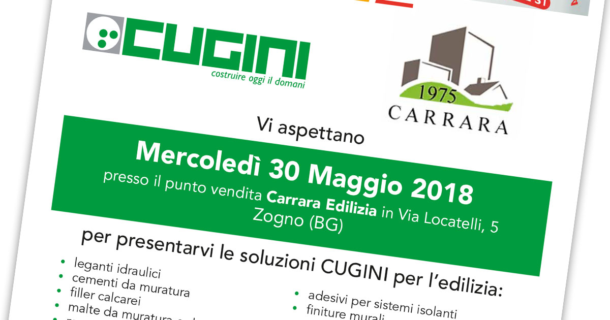 30/05 OPEN-DAY a Zogno (BG)